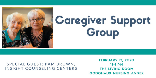 Caregiver Support Group Feb. 12