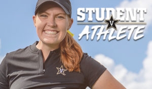 Student-athlete Abbey Carlson: Engineer and golfer