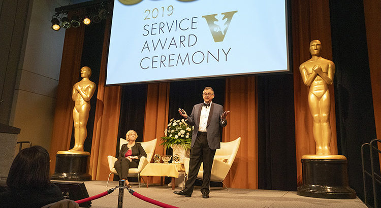 Staff recognized with Commodore Award, Diversity Leadership Award at 2019 Service Award Ceremony