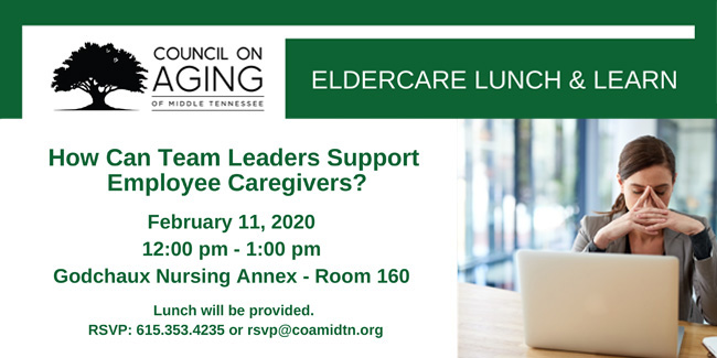 Elder care lunch and learn Feb. 11