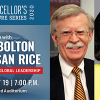 John Bolton and Susan Rice Vanderbilt Chancellor's Lecture Series