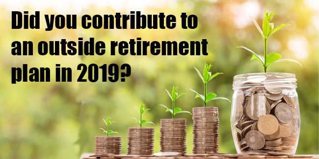 Form 415 Retirement Plan Contributions