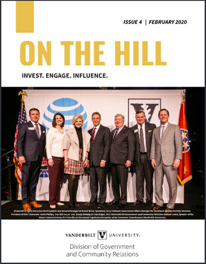 """ON THE HILL"" Issue 4"