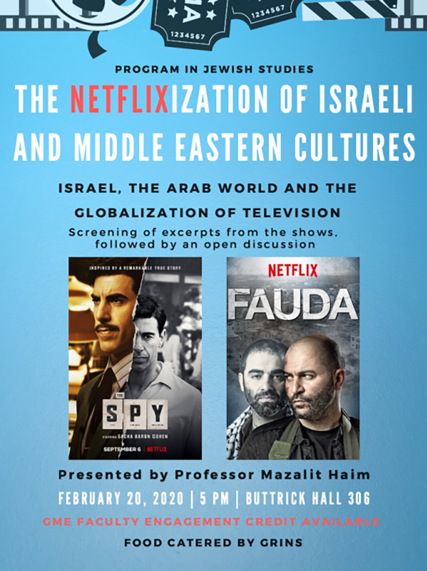 The Netflix-ization of Israeli and Middle Eastern Cultures