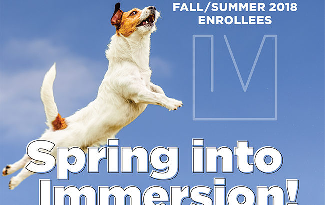 Immersion plan proposals due April 1; series of events planned to help