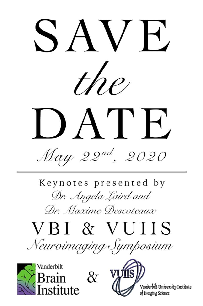 Save the date: VU-VUMC Neuroimaging Symposium set for May 22