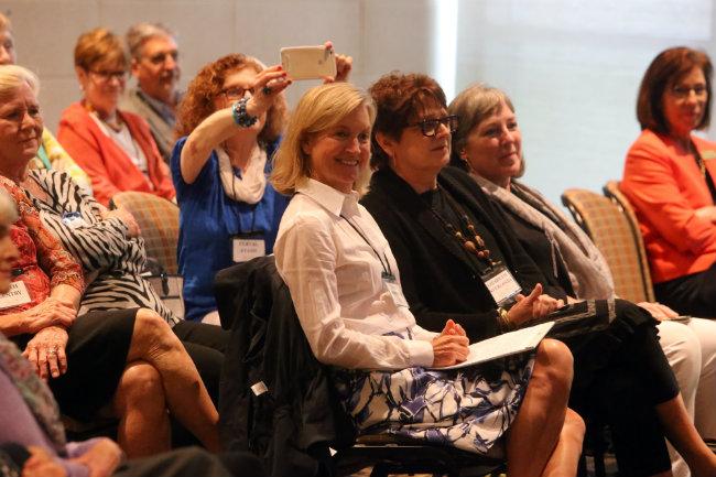 Students in Osher Lifelong Learning classses often make new friendships (Vanderbilt University)