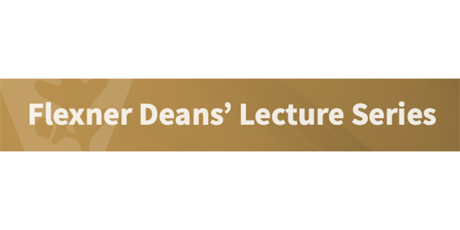 'The History of African Americans in Medicine' topic of two-part Flexner Deans' Lecture Dec. 7, 14