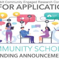 Meharry-Vanderbilt Community Engaged Research Core Community Scholars Award