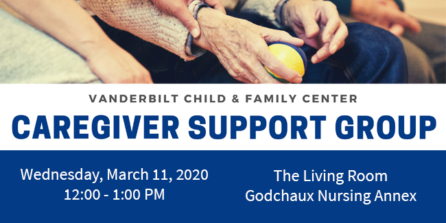 March 2020 Caregiver Support Group