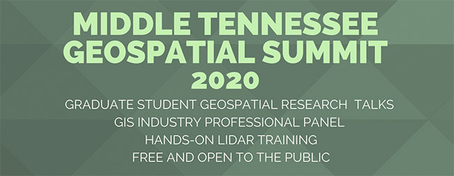 Middle Tennessee Geospatial Summit