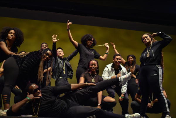 Senior Dance at Harambee. A cultural showcase presented by the African Student Union. (Photograph by @jannygaophoto)