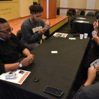 Spades 101 event at the Bishop Joseph Johnson Black Cultural Center. (Jalen Blue/Vanderbilt)