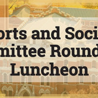 Sports and Society Committee Roundtable Luncheon