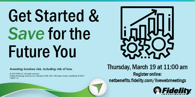 Fidelity Retirement Workshop March 19