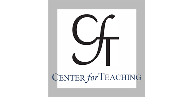 Center for Teaching offering two course design institutes in May