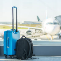 Suitcases at airport (Getty Images)