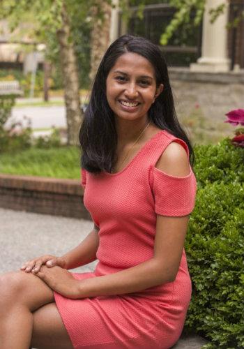 environmental photo of Goldwater Scholarship recipient Abinaya Ramakrishnan