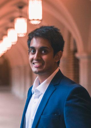 environmental photo of Goldwater Scholarship recipient Ashwin Kumar