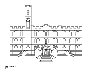 Kirkland Hall coloring activity page