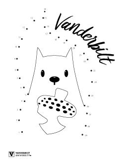 Squirrel Connect the Dots; Vanderbilt