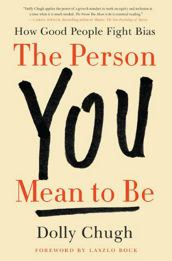 bookjacket for 'The Person You Mean to Be'