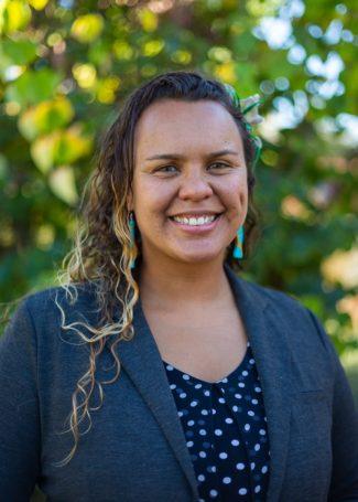 Brittany Kamai, graduate of the Fisk-Vanderbilt Masters to Ph.D. Bridge Program
