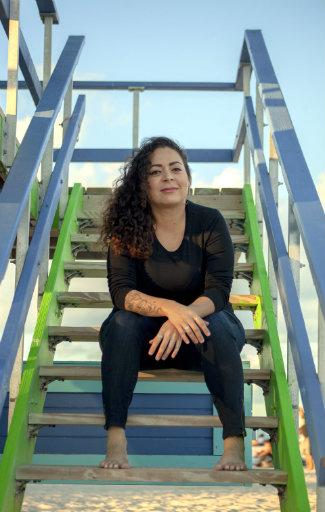 author Jaquira Díaz (photo by Maria Esquinca)