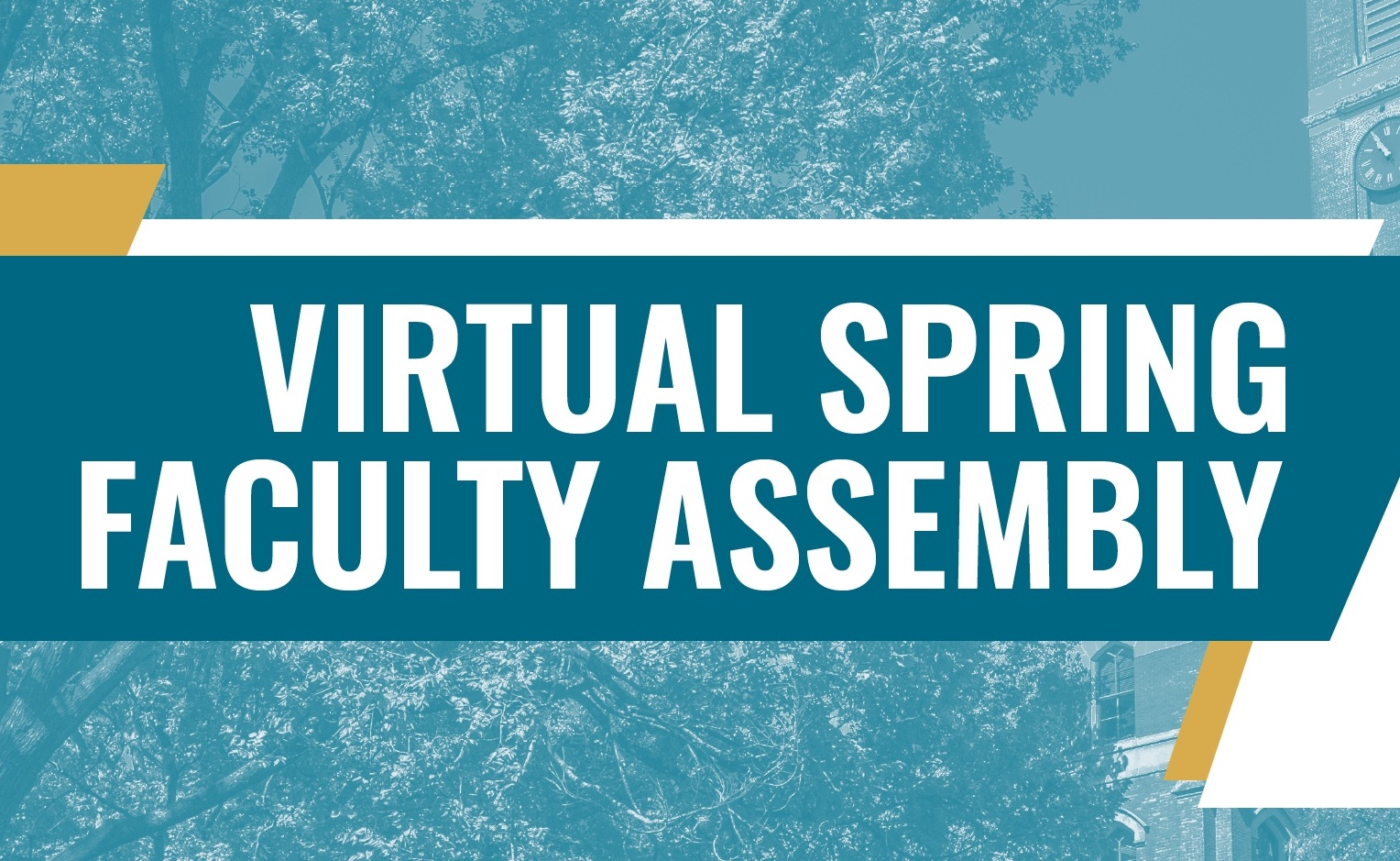 2021 Spring Faculty Assembly to be held virtually April 1