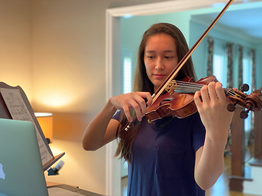 Blair Academy is offering private lessons online in piano, orchestral and folk instruments, Suzuki violin and cello, and beginning and partner piano. (Vanderbilt University)