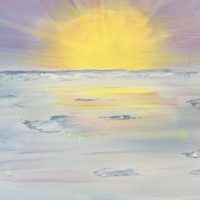 """A Mellow Sunset"" by Melissa Gramling Meares"