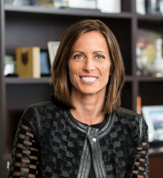 Adena Friedman, president and CEO of Nasdaq