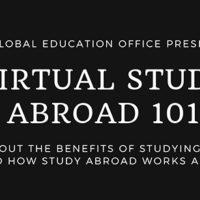 Virtual Study Abroad 101 April 30