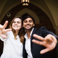 VSG 2019-20 Student Body President Frances Burton (left) and Vice President Veer Shah.