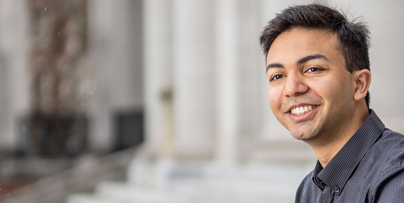 Fostering Human Connections: Vineet Desai, BS'20