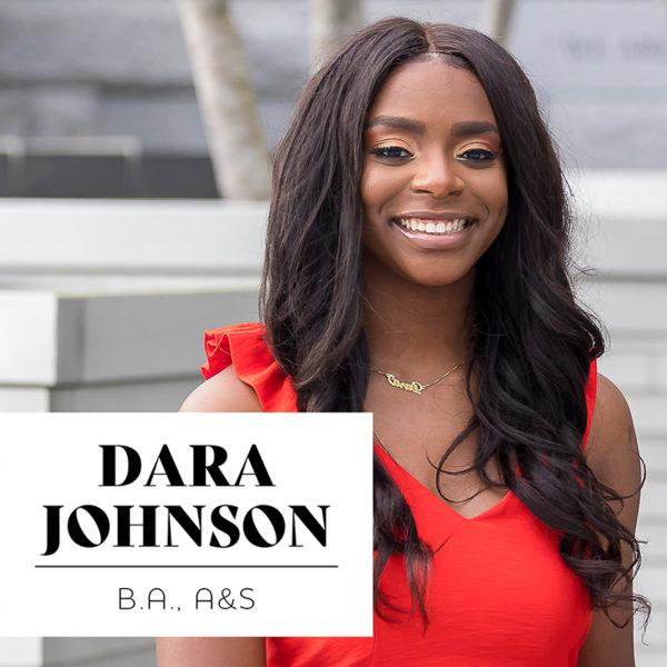 Dara Johnson, BA'20, Arts and Science