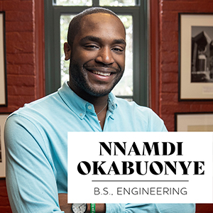 Praise for Camaraderie and a Welcoming Vanderbilt Vibe: Nnamdi Okabuonye, BS'20