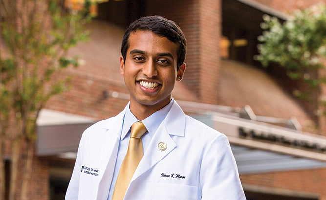 What We Trained For: Medical school class president speaks about moving forward during pandemic