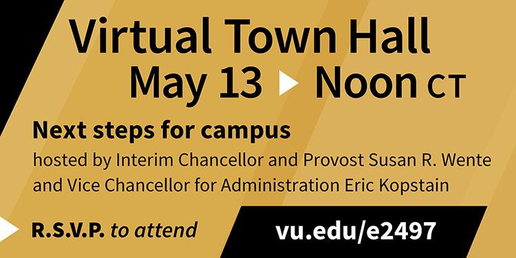 Virtual Town Hall May 13
