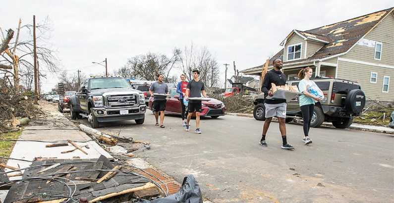 Picking up the Pieces: The Vanderbilt community helps Middle Tennessee rebuild after devastating tornadoes