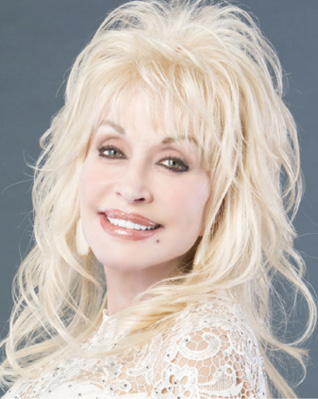 head shot of Dolly Parton