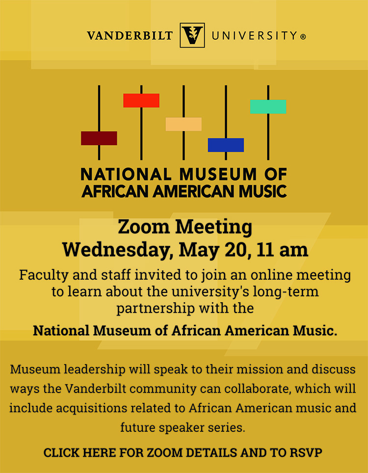 NMAAM Zoom meeting May 20 flyer