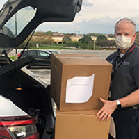 Britt Autry, vice president of DENSO, is spearheading an effort to donate personal protective equipment (PPE) to Tennessee hospitals in need. DENSO is a large auto parts manufacturer in Tennessee but is now making large quantities of face shields.