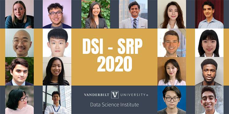 Data Science Institute Summer Research Program 2020 photo grid