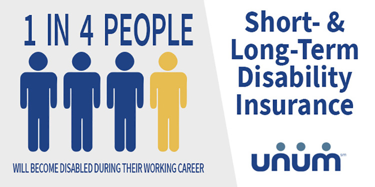 Short- and long-term disability insurance