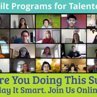 Programs for Talented Youth Online Academy Play it Smart