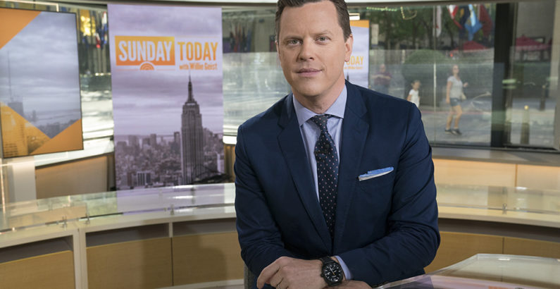 News and Interviews: 'Sunday TODAY' host Willie Geist, BA'97, reflects on the pandemic, his podcast, and the pride he takes in Vanderbilt