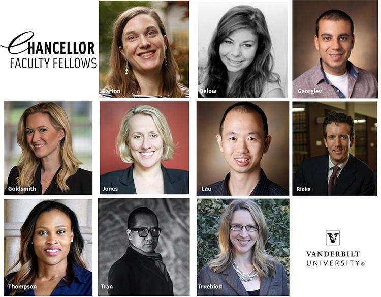Chancellor Faculty Fellows 2020-21