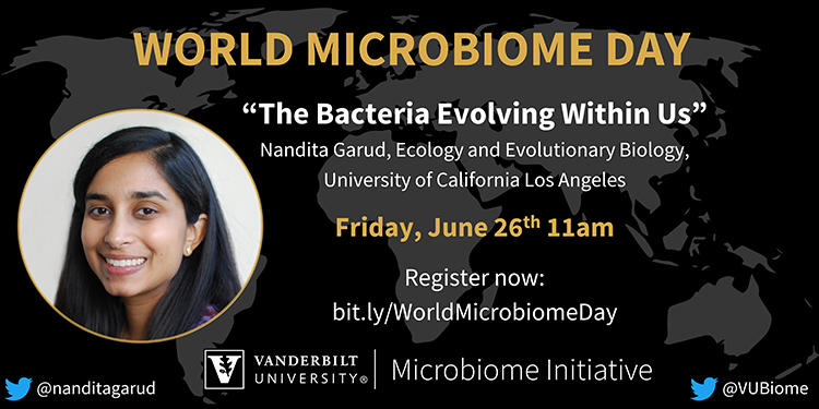 "World Microbiome Day ""The Bacteria Evolving Within Us"""