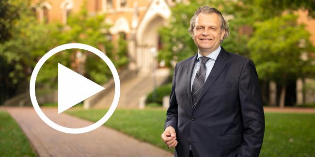 Chancellor Daniel Diermeier (John Russell/Vanderbilt)